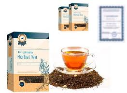 Herbal tea anti parasite - česká republika - tablety - kapky