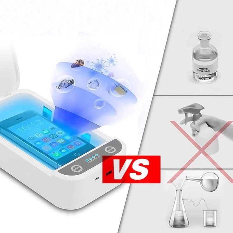 Sterilizator UV - germicidní lampa - Amazon - prodejna - složení
