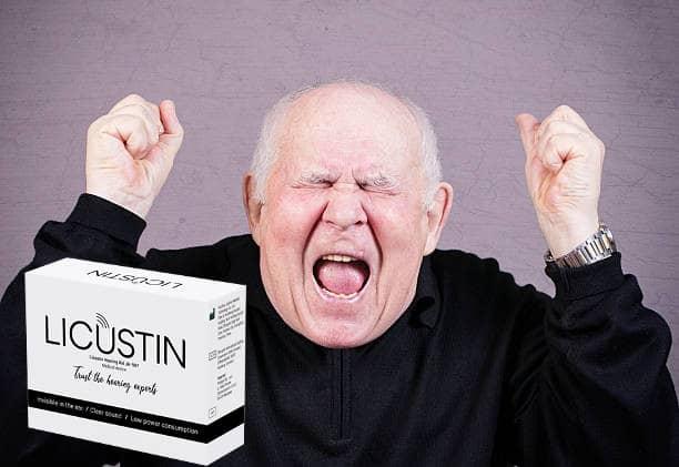 Licustin - naslouchátko - Amazon - složení - jak používat