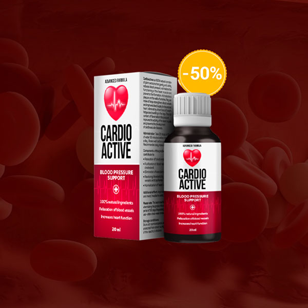 CardioActive – na hypertenzi - forum – krém - kde koupit