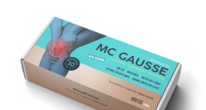 MC Gausse – kolenní obvaz - krém – složení – lékárna