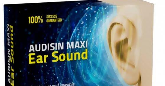 Audisin Maxi Ear Sound - heureka - v lékárně - dr max