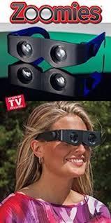 Glasses binoculars ZOOMIES - test - resultat - omdöme - någon som provat